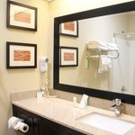 Upscale Bathroom - Comfort Inn Hotel in Mansfield