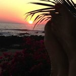 Celebrating sunset at Casa de las Piedras