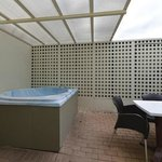  Unit&#39;s Spa Pool Area