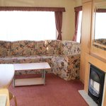  3 bedroom caravan - view of lounge area