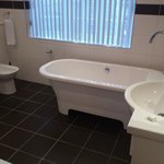  Leamington Bathroom - huge with lovely roll-top bath