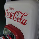  Old Coke machine at the Barnstead