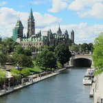 Rideau Canal and Houses of Parliament