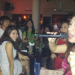  Enjoying liveband at Red Bar