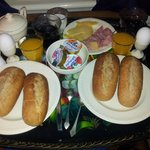 Breakfast- room service- B&B Since 1634