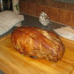                    Our Christmas turducken courtesy of Karen
