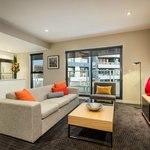  Two Bedroom Executive Apartment, Kitchen &amp; Lounge Area