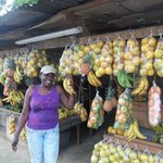 Jane sells a variety of fruits in Porus Clarendon
