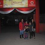 our family at entrance