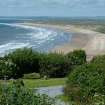 Don't miss Rhossili Beach, 20 min by car