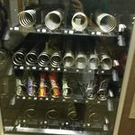 Almost empty vending machine.