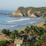                    Zipolite Beach from La Loma Linda