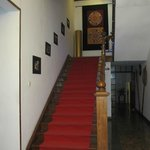 The stairway to the rooms