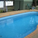 small solar heated pool