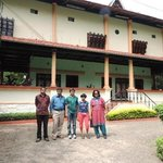 Our home away from home at Kumarakom with Mr.Kurien & Mr.Zubin.