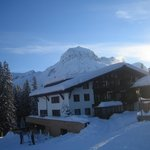View of Hotel Cresta from Oberlech