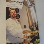 Chef's Business Card and Public Postcard/Handout Announcement of Chef's Cook