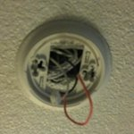                    What should be a smoke detector