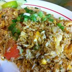 Crab fried rice.