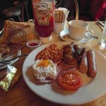  Full Cornish Breakfast. Yum!