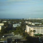  view from the 14th floor, Tampa Bay in the distance