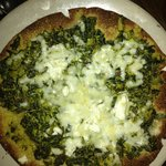                    Paneer Saag Pizza