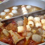 Chicken and Tom Yam Steamboat..