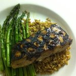 ginger honey glazed mahi mahi