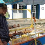                    in Paraty you must test the cakes on wheels!