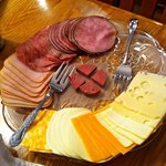MEAT and CHEESE.