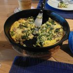                    Breakfast- vegetarian frittata