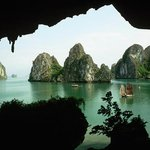 View from Halong Bay