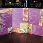 Bar menu example