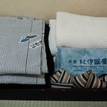 Room amenities (yukata/ towels)