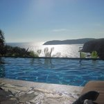 View from Turtle Bay Villa infinity pool