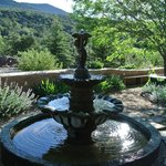 Fountain in the garden