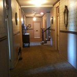 upstairs corridor (its me that's wonky not the hall!!)