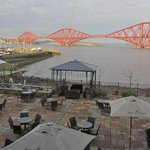                    View of Forth Rail Bridge from Antico at Orocco Pier