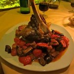                   lamb shank