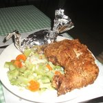 Bahamian fried chicken