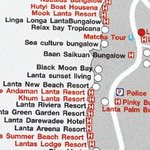 Map to find Pinky Bungalow