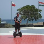 Michael on the segway tour