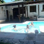                    Piscina antes de partir...