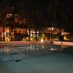 the pool by nght