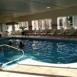 Pool, clean and lots of seating