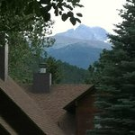                    View of Longs Peak from Kitchen Window