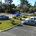                    view of parking lot island garden