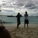                    our hotel&#39;s water duo, who took us to the island and handled everything