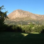 view from Franschhoek