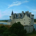                    View over the mini chateau from our bedroom